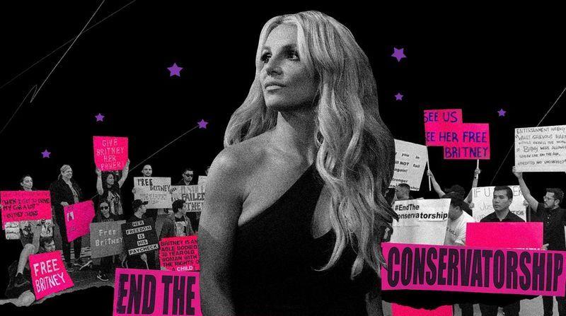 A mãe de Britney Spears chega ao tribunal com o movimento #FreeBritney junto com os documentos legais